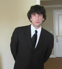 Neil in a suit